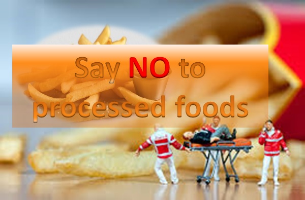 Say 'No' To Processed Food