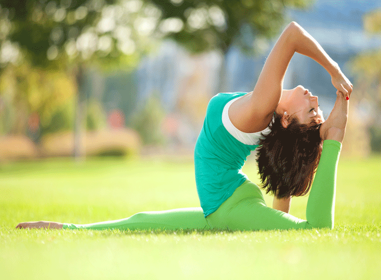 Yoga Teaches You To Focus On Yourself