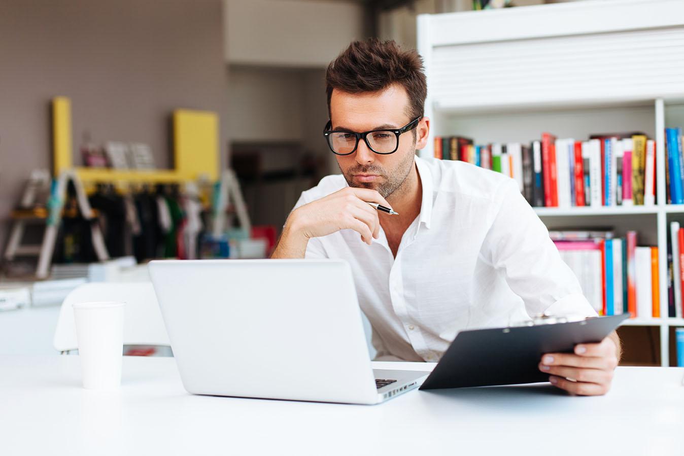 Computer Protection Eyeglasses