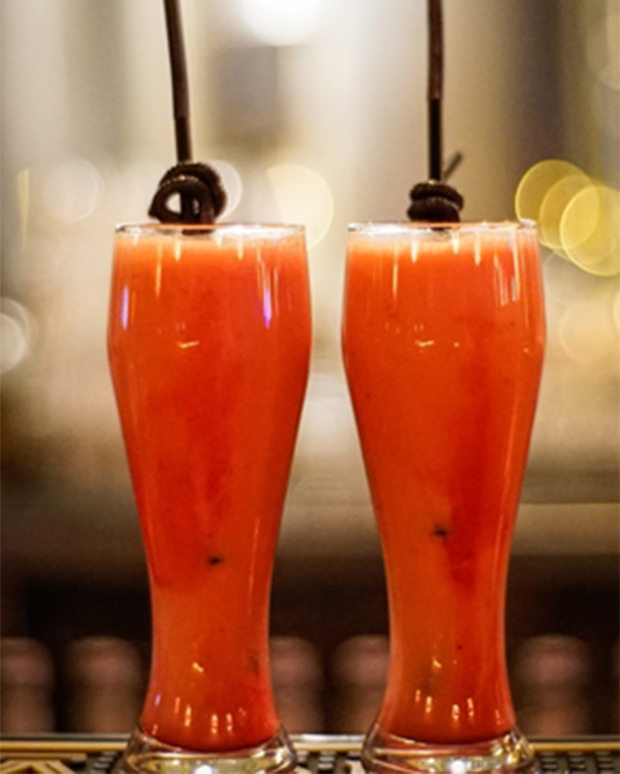 The Orange And Carrot Drink
