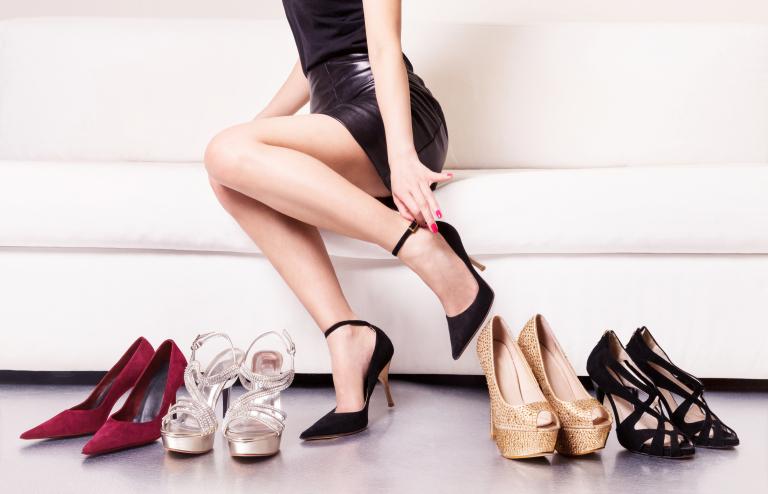 Avoid Wearing High Heels