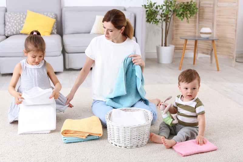Keep Kids Busy With Household Tasks