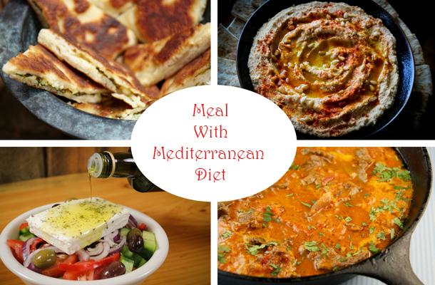 Meal With A Mediterranean Diet